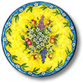 tavoli in ceramica : Spaccio Ceramica Toscana dipinta a mano. Offerta Oggetti in Ceramica a ...